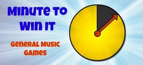 Elementary Music Methods: Real Life Edition: General Music Minute to Win It Games