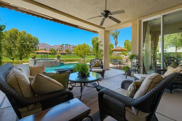 La Quinta Vacation Rental Mountain View Pga West Home On Nick Tournament Course Large Private Pool Cascading West Home Florida Beach House Vacation Rental