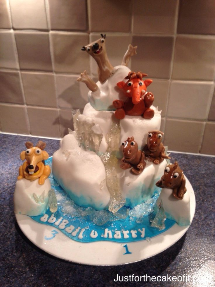 Ice Age Cake Decorations Uk