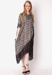 Danar Hadi  Dress Batwing Batik