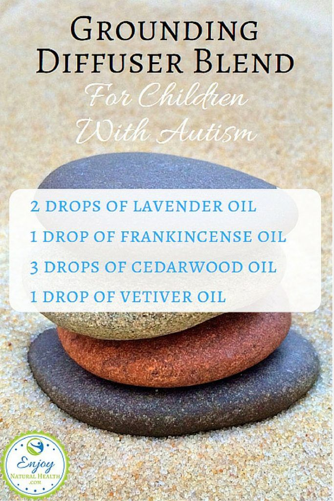 Grounding diffuser blend for children with autism. Learn more about the power of essential oils for autism!