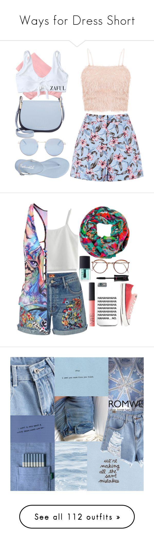 """Ways for Dress Short"" by varrica ❤ liked on Polyvore featuring Badgley Mischka, Tommy Hilfiger, Wildfox, bikini, zaful, Chicwish, NARS Cosmetics, Converse, Pull&Bear and Fujifilm"