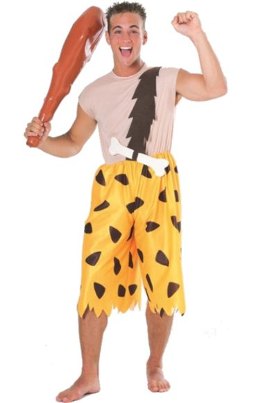 Teen The Flintstones Bam-Bam Costume