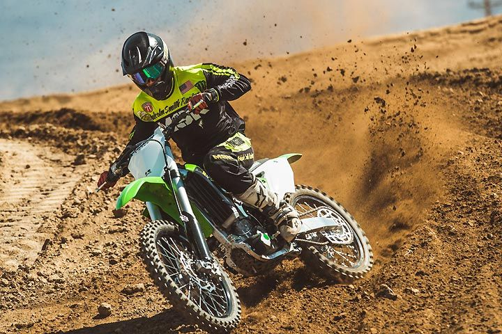 2018 Kawasaki KX250F First Ride Review    Did Kawasaki deliver a more powerful 2018 KX250F? DirtBIkes.com takes the '18 for a spin at Cahuilla Creek Motocross Park in Southern California.