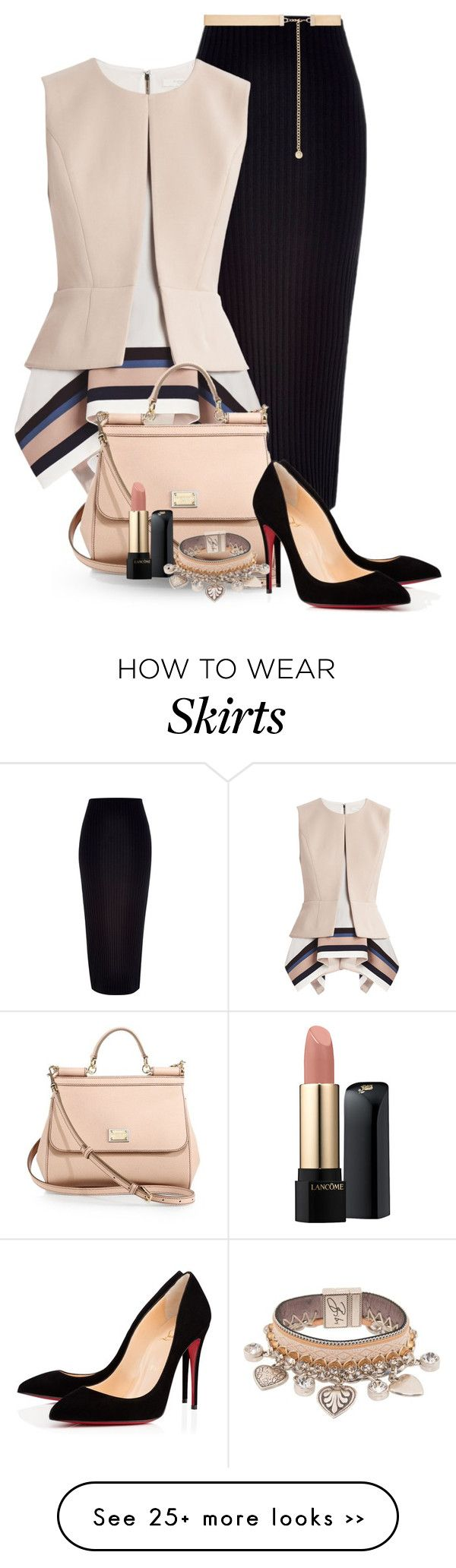 """""""Maxi Skirt"""" by flowerchild805 on Polyvore"""