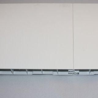 Verkleidungsprofil von dekodeck ohne Fuge in weiß.  Erhältlich auf  www.Bauzuschnitt.de schau vorbei.