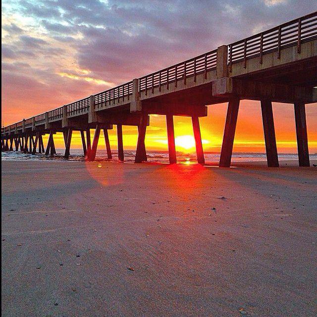 Beautiful Florida sunset! #florida #beach #pretty #beautiful #picture #photography