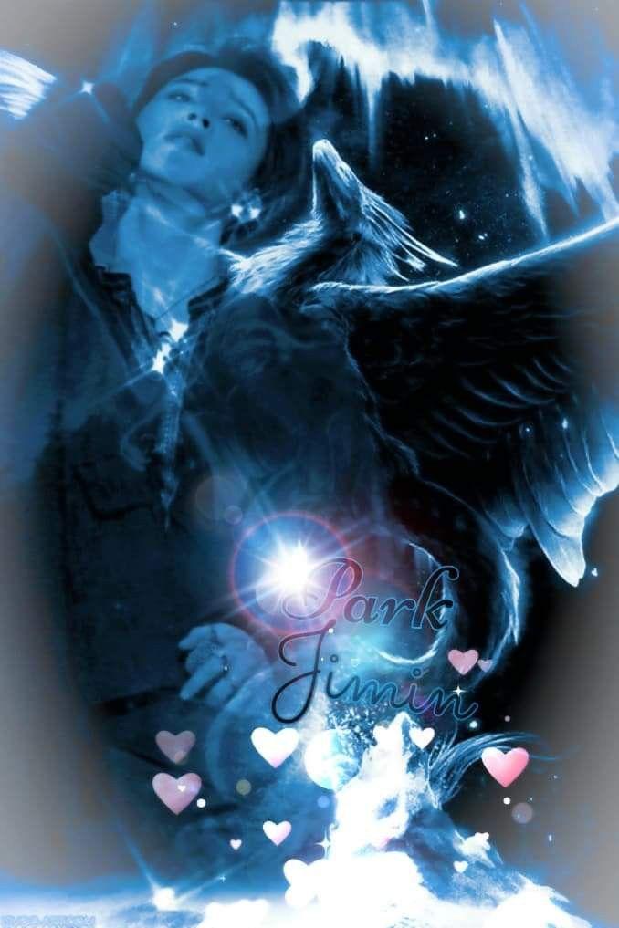 Bts Jimin Blue Dragon My Own Created Edit Jimin Fanart Fan Art Jimin