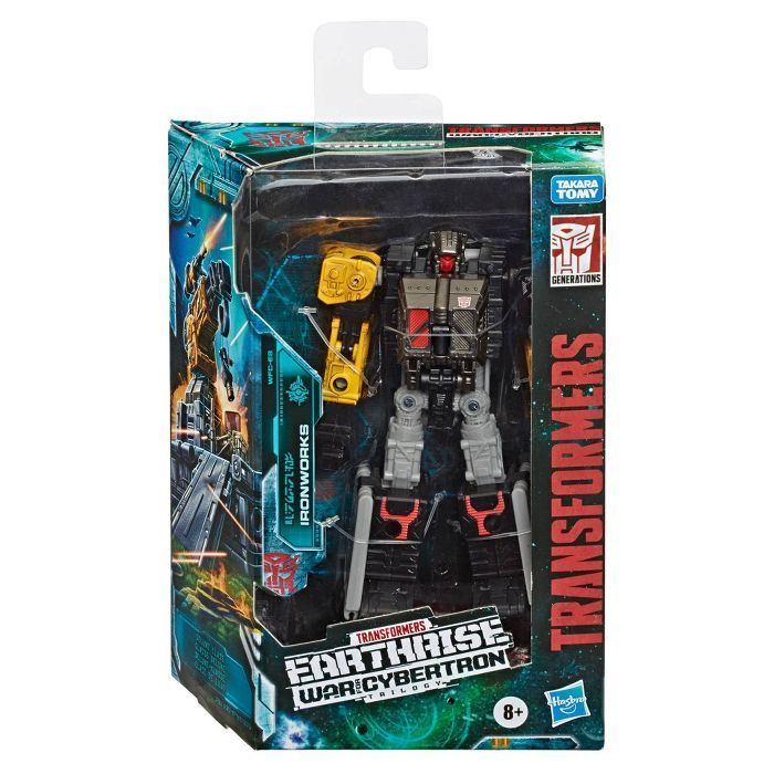 Transformers Generations War For Cybertron Deluxe Wfc E8 Ironworks Target Transformers Transformers Toys Modulators