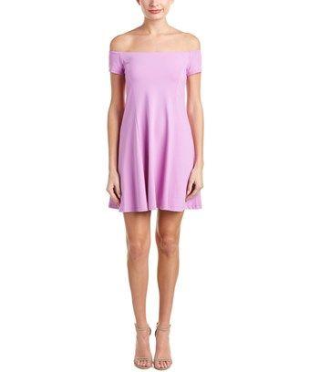 SUSANA MONACO SUSANA MONACO ABIGAIL OFF-THE-SHOULDER A-LINE DRESS. #susanamonaco #cloth #