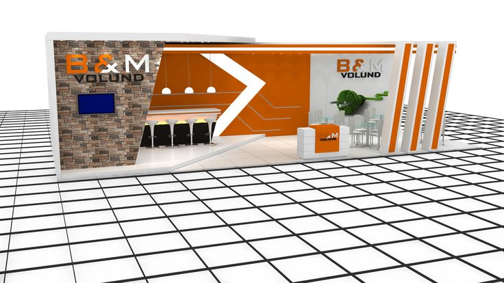 B&M exhibition stand design