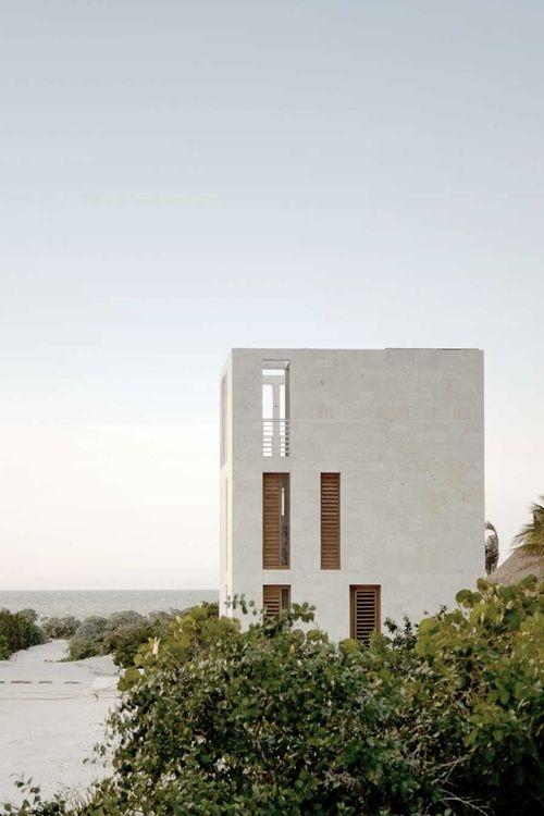 I yearn to live by the sea...  WHEREMYHOUSE #seaview #sanddunes #beachhouse