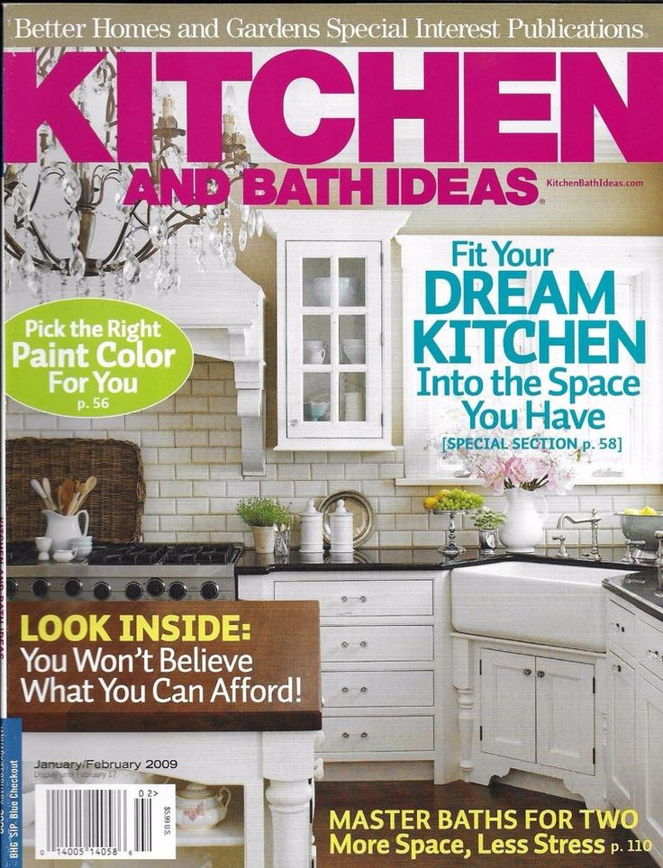 Kitchen And Bath Ideas Magazine Paint Color Modern Design Budget Ideas  Storage