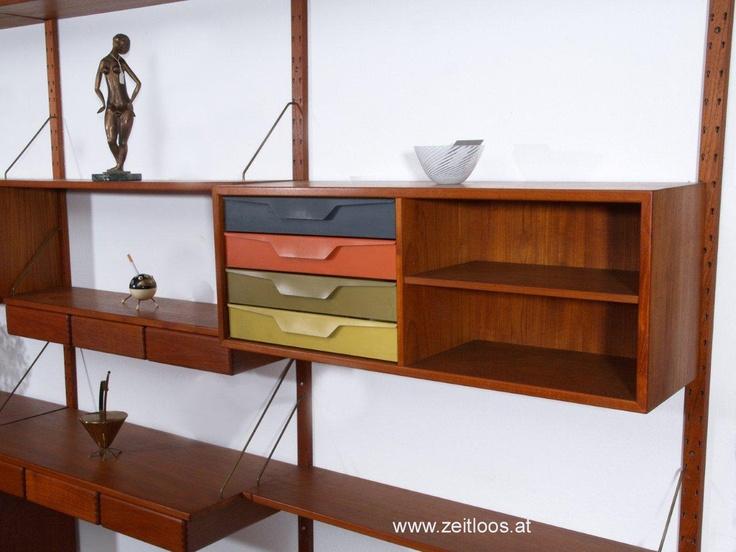 teak shelve systemarne vodder denmark danish architect and designer