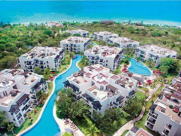 Azul Fives Riviera Maya, Arial View
