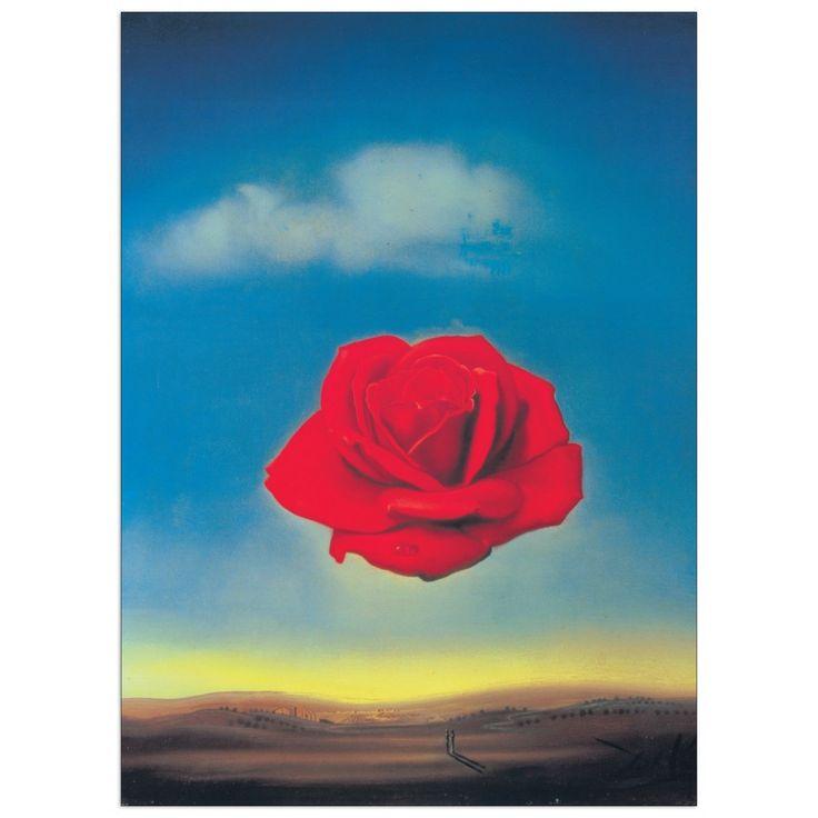 DALÌ - Rosa pensierosa, 1958 50x70 cm #artprints #interior #design #art #print #iloveart #followart #artist #fineart #artwit  Scopri Descrizione e Prezzo http://www.artopweb.com/autori/salvador-dali/EC15144