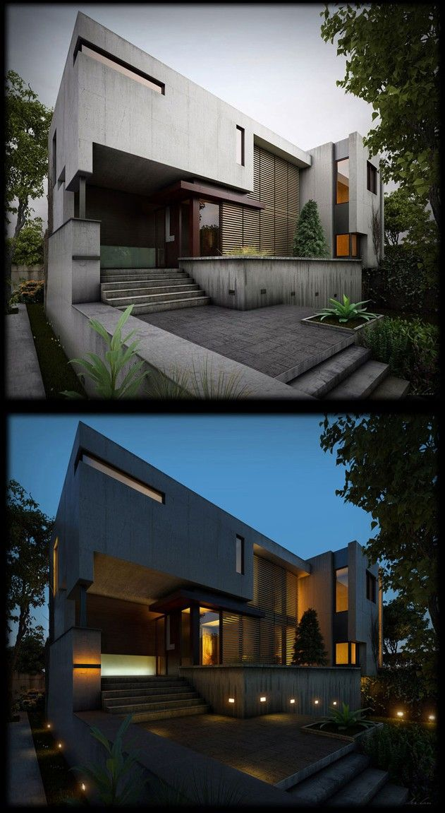 House on a Ravine: Texturing, Lighting and Rendering tutorial