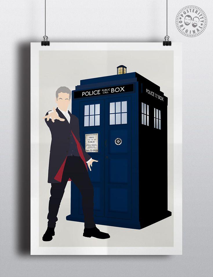 #minimalist #poster #posteritty #fanart #whovian #drwho #doctorwhol #capaldi #12thDoctor