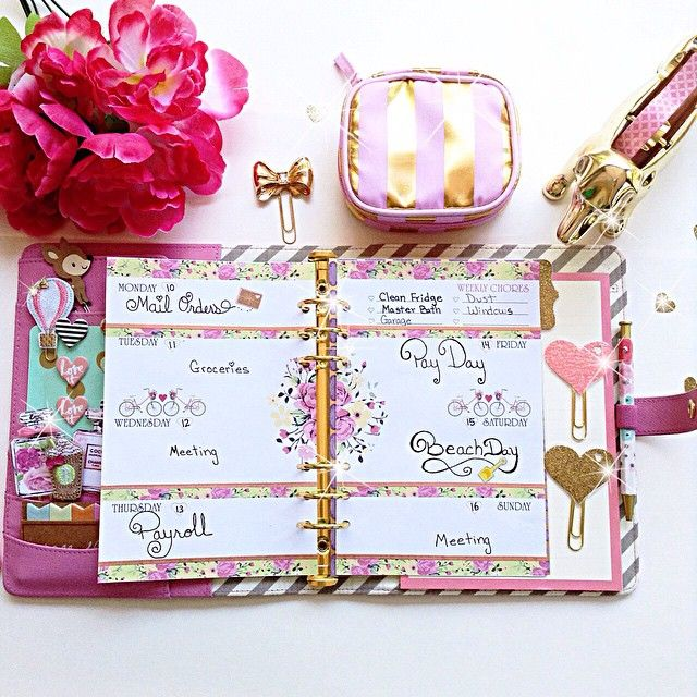 30 best PLANNER LAYOUTS images on Pinterest Planner ideas - layout of an agenda