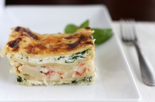 95 Best Seafood Lasagna Images On Pinterest Seafood