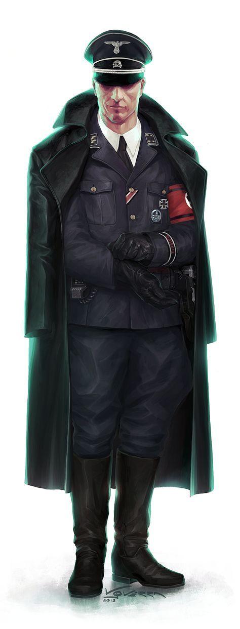 Sturmbannführer Dr. Maximilian Schimana ~ Walküre, el juego de rol