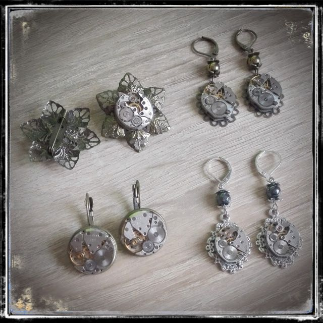Steampunk Watch Parts Jewellery