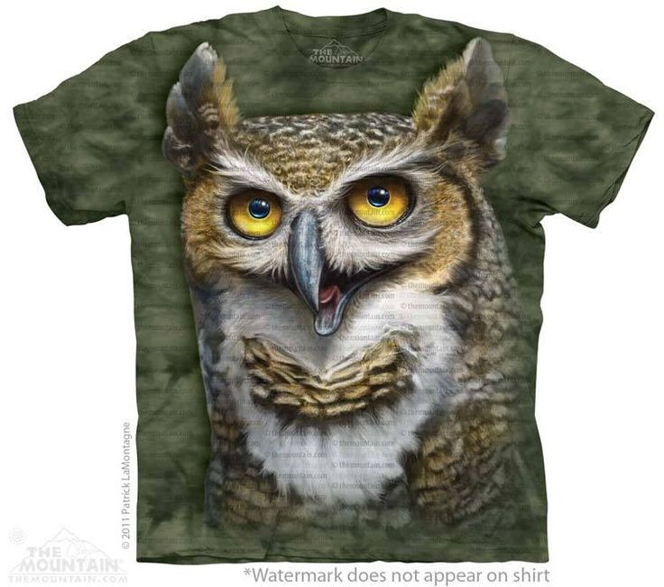 Wise Owl T-Shirt @Click image to purchase