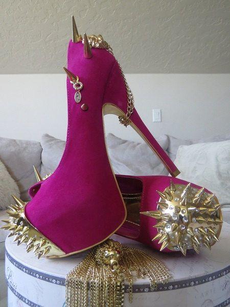 pink heels with spikes wwwpixsharkcom images