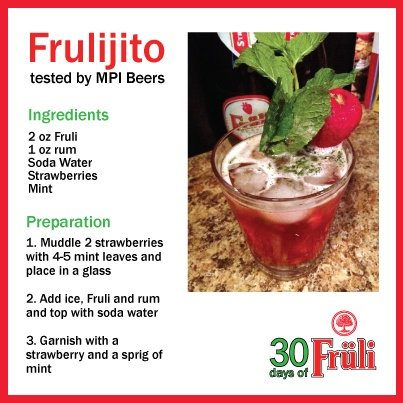 Beer cocktail: Frulijito