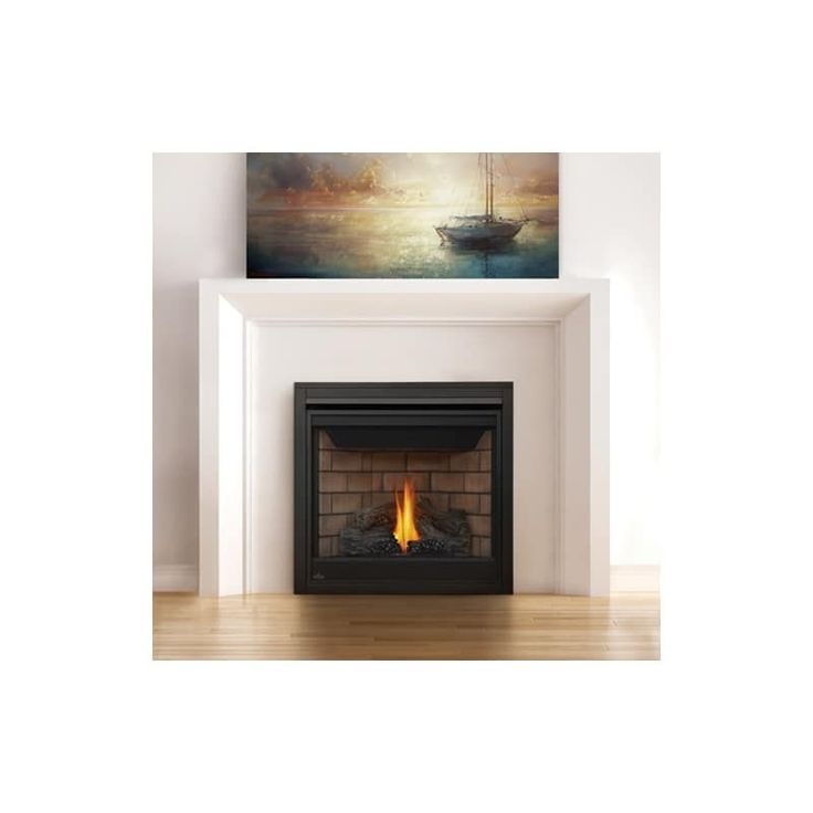 Napoleon B35te 20000 Btu Built In Direct Vent Natural Gas Fireplace With Safety Fireplace Built In Vented Gas Fireplace Gas Fireplace Direct Vent Gas Fireplace
