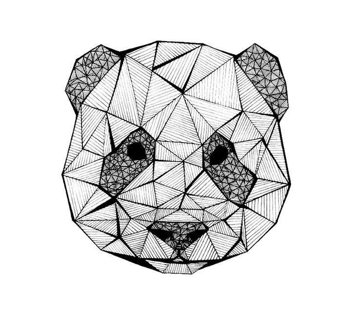 Panda (dessin: Marie Escames)