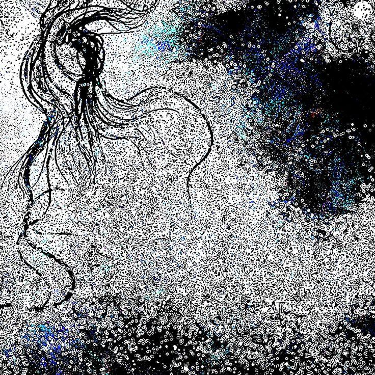 Nebula 1 (Johan Halldin 2014) Mixed media