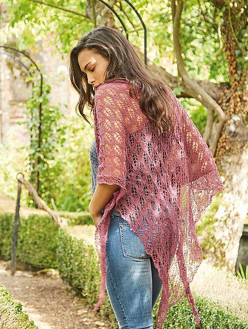 Birch Lace Shawl Free Knitting Pattern Crafty Stuff Lace