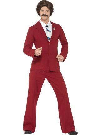 Anchorman Ron Burgundy Costume