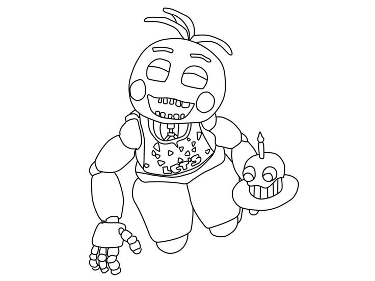 Coloring Pages Toy Animatronics Coloring Pages