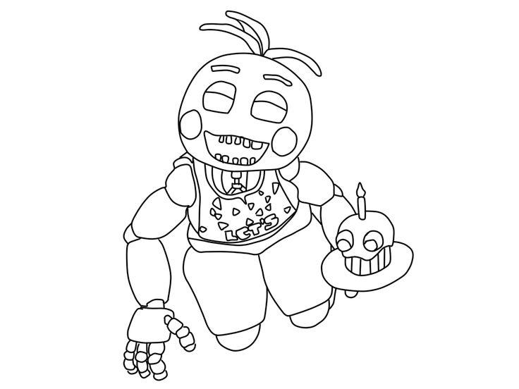 acabei de terminar mais um desenho dos animatronics de