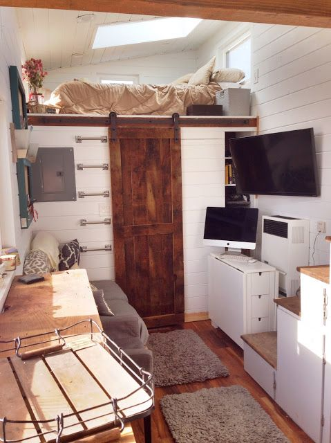 A custom Mitchraft tiny home for sale in Colorado