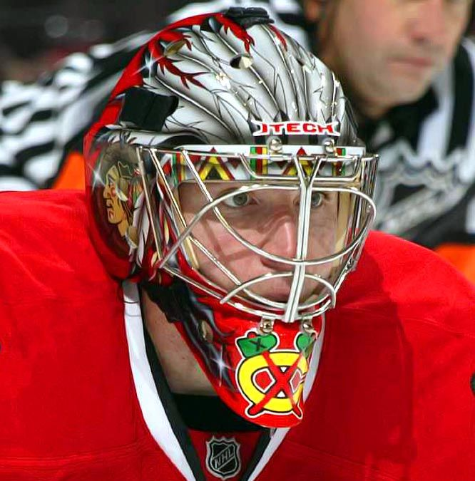 Cristobal Huet Top Five In NHL… In Mask Art | Committed Indians