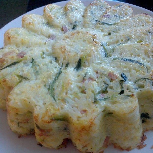 Cet été, je ne suis pas très active sur mon blog!!. Mais, je cuisine quand même....il faut bien nourrir les bouches affamées....Je fais souvent ce style de recette complète, qui permet de faire manger des légumes cuits aux enfants. C'est un gâteau de...