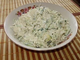 ELENA MALOVA: Receta: ensalada con repollo
