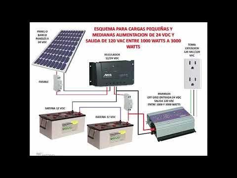 Como Instalar Sistema De Paneles Solares Con Bater 237 As
