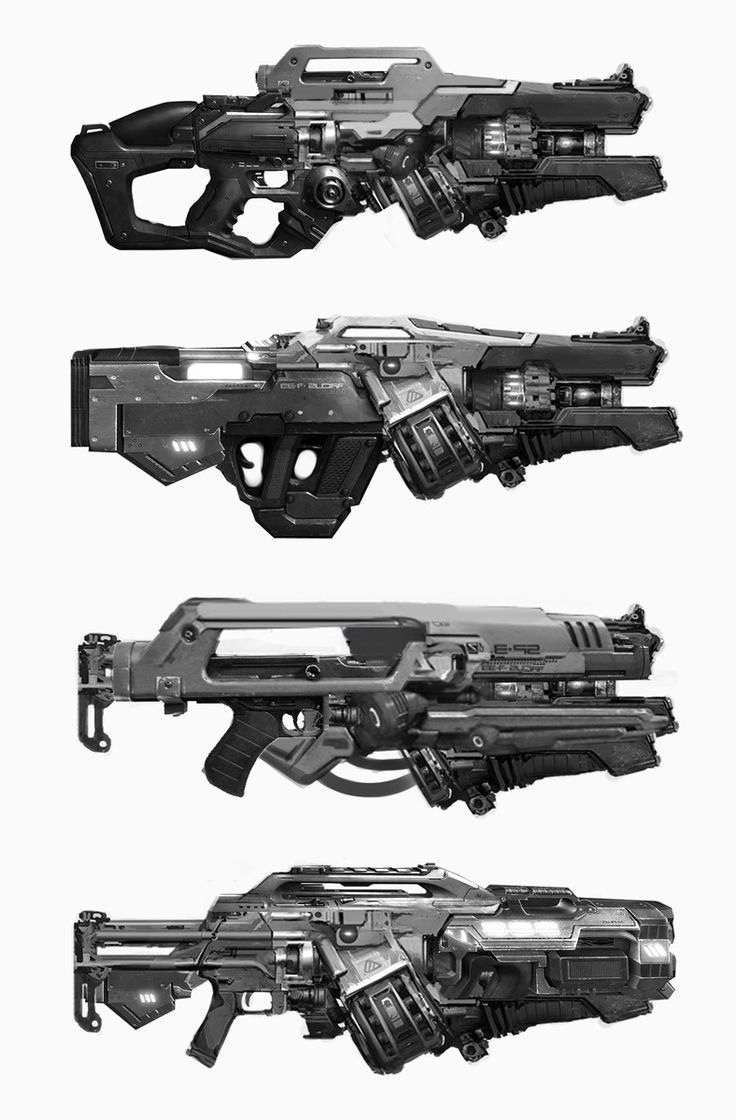 The type of guns i would like to implement into my game.