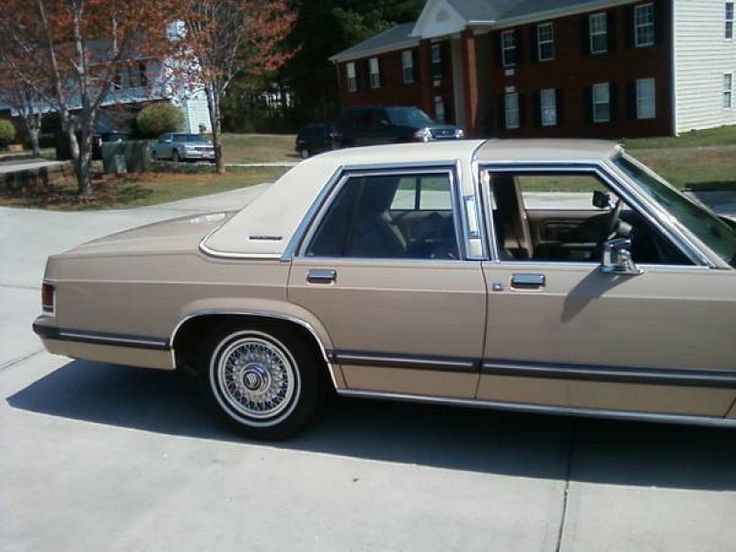 20 Best Images About 1988 91 Mercury Grand Marquis On