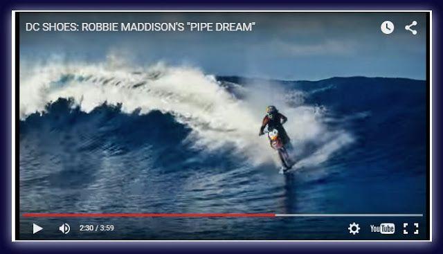 Άρωμα Ικαρίας: Robbie Maddison και  Surf με… μοτοσικλέτα