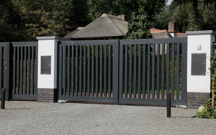 Black garden fence!