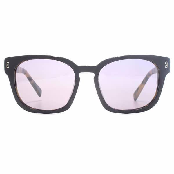 Colston Matt Black Sunglasses   Hook LDN   Wolf & Badger  /  Women / Accessories / Sunglasses