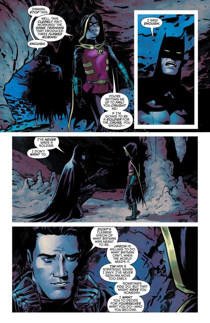 Aww ❤️❤️ Batman and Robin Eternal