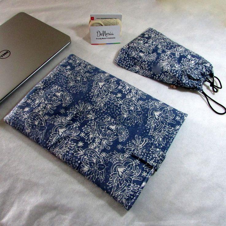 DeNesia's Ethnic Batik Laptop Sleeve | Sarung Laptop Batik | LS08