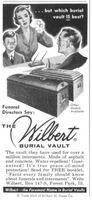 Wilbert Burial Vault 1956 Ad Picture