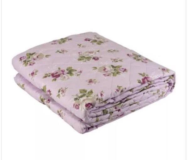 Tagesdecke Plaid Ouilt Bettüberwurf Decke Chic Sofaüberwurf Bett Blumen 240x220 | eBay